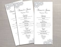 editable menu template teki 25 den fazla en iyi wedding menu template fikri