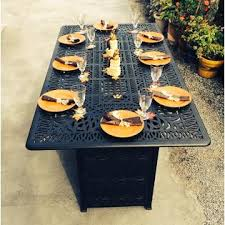 Bar Height Fire Table B015br38g4 Propane Fire Pit Table Outdoor Elisabeth Patio Bar