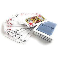 cards in bulk 12 decks place a deck of