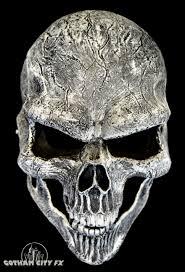 skeleton ghost mask white ghost rider skull mask gotham city fx online store