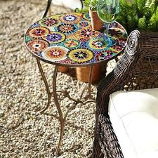 outdoor mosaic accent table side tables mosaic side table mosaic accent table mosaic coffee