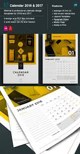 kickstart 2016 with a creative monthly calendar template