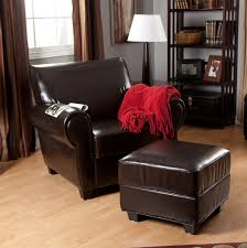 Black And White Chair And Ottoman Design Ideas Ottoman Inspiring Design Ideas Oversized Leather Chair With