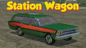 green ford station wagon farming simulator 2015 lincoln continental u0026 1966 ford country