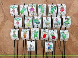 Vegetable Garden Labels by 13 Best Plant Markers And Garden Stakes Images On Pinterest