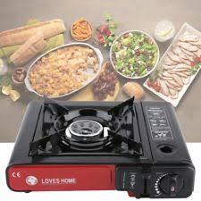 portable table top butane stove chefmaster portable single burner butane stove 90011 ebay