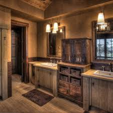 rustic bathroom vanity cabinets rustic modern ideas double gray