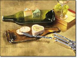 wine bottle cheese plates we continue to try and find ways to recycle and reuse we are now