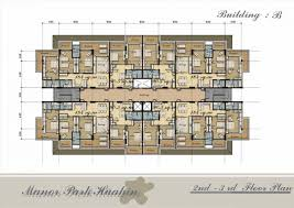 multi unit house plans unit multi family house plans home with mud india triplex modern