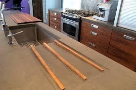 comptoir ciment cuisine cuisine bois beton maison bois beton salle manger montage cuisine