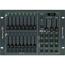 american dj duo station lighting controller american dj stage setter 8 16 channel dmx controller