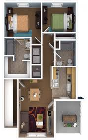 Two Bedroom Apartment Design Ideas Innovative 2 Bedroom Apartments Two Bedroom Apartments Inside 2
