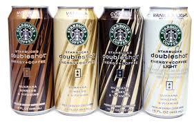 starbucks doubleshot vanilla light canned coffee energy drinks taste test serious eats
