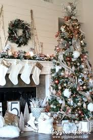 Michaels Christmas Decorations Sale by Glam Metallic Farmhouse Christmas Tree Christmas Tree Metallic