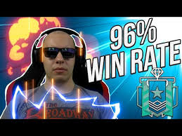 siege dia what a 96 win rate looks like rainbow six siege