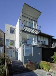 House Design Balcony Modern House Architecture Idolza