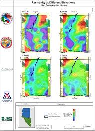 Arizona Aquifer Map by Callegary Et Al 2016 San Pedro River Binational Report