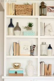 on the shelf accessories styling built ins instagram feed spaces and house