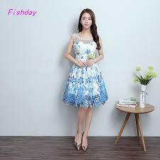 aliexpress com buy short simple semi formal lace a line light