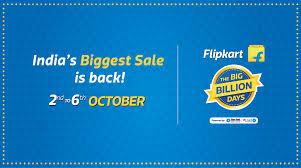 flip kart flipkart big billion days sale 2016 sale starts 2nd october