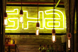 free images restaurant bar color glow lamp yellow light