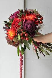 wedding flowers sheffield beautiful bridal bouquet in warm burgandy and gold burgandy