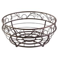 amazon com interdesign twigz fruit bowl u2013 wire fruit basket for
