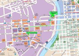 New Orleans Attractions Map by Large Philadelphia Maps For Free Download And Print High