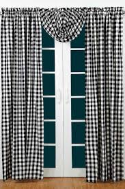 Checkered Shower Curtain Black And White by Bj U0027s Country Charm Black Buffalo Check Curtains