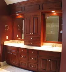 Red Mahogany Kitchen Cabinets by Kitchen Kitchen Cabinets Custom Made On Kitchen In Customized