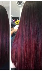 best summer highlights for auburn hair burgundy hair with dark red purple and brown highlights