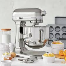 Stand Mixer Kitchenaid by Kitchenaid Pro Line Nickel Stand Mixer 7 Qt Sur La Table