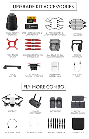 What S Included Dji Spark Upgrade Kit