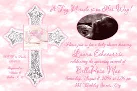 blessing baby tiny blessing baby girl ultrasound shower invitation