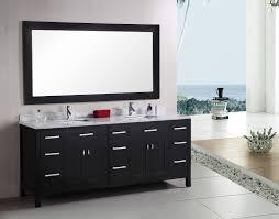 design element london double 78 inch modern bathroom vanity set