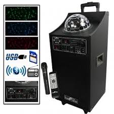bluetooth party speakers with lights new bluetooth professional 10 woofer led party speaker mic fm usb sd