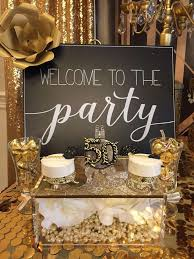 Birthday Decoration Ideas At Home For Husband Best 25 Golden Birthday Parties Ideas On Pinterest 21st