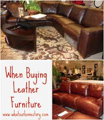 Leather Furniture 3 Quick Tips About Buying Leather Furniture Whats Ur Home Story