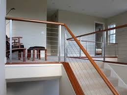 Stainless Steel Banister Ultra Tec Stainless Steel Railing System Modern Staircase
