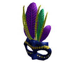 cool mardi gras masks blue mardi gras mask roblox