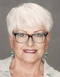 hairstyles for gray hair over 60 short hairstyles short hairstyles for grey hair and glasses new