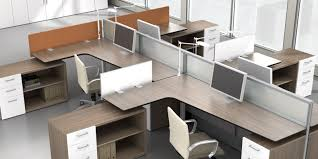 Modular Desk Components by Modular Office Furniture M2 Open Office Plans By Watson Desking