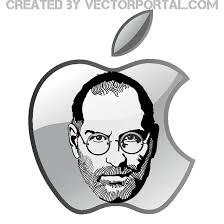 steve jobs and apple logo vector download at vectorportal