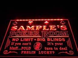 Neon Sign Home Decor Aliexpress Com Buy Dz005 Name Personalized Custom Poker Casino