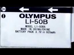 olympus vr 340 battery olympus li 50b li50b battery for vr 340 1010 1020 1030sw tough