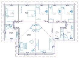 plan de maison 5 chambres plain pied ordinaire plan plain pied 5 chambres 14 plan de maison simple 5