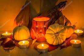 Small Pumpkins Jack O Lantern And Small Pumpkins U2014 Stock Photo Alpegor6 125948152