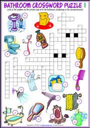 Things In The Bathroom Bathroom Esl Printable Worksheets And Exercises