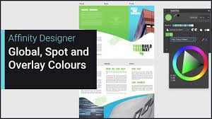 global spot and overprint colours affinity designer youtube