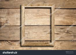 Picture Frame On Wall by Old Picture Frame On Wood Wall Stock Photo 585082996 Shutterstock
